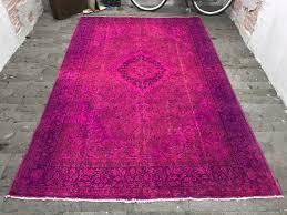 oushak rug 6 6x10ft purple oushak rug distressed rug large turkish rug boho