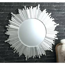 wall mirrors round wall mirrors decorative large silver mirror diameter small
