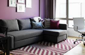 Contemporary Purple Blue Living Room contemporary-living-room