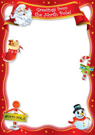 Christmas Letter Template Free Blank Letter From Santa Template New Calendar Template Site 1