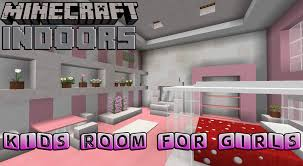 kids bedroom for girls minecraft indoors interior design youtube