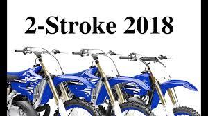 2018 suzuki 2 strokes. contemporary suzuki 2018 yamaha yz250 yz125 u0026 yz85 2stroke motocross studio action photos to suzuki 2 strokes w