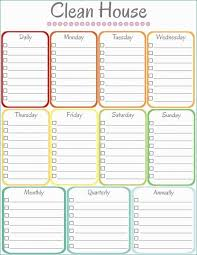 Cleaning Checklist Template Free House Cleaning Templates Free Exclusive Checklist For House Cleaning