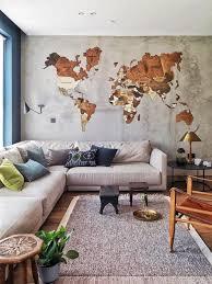 map wall art wood wall art
