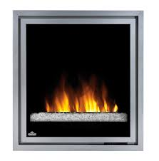 com napoleon ef30g electric fireplace insert with glass 30 inch home kitchen