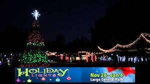 Largo Central Park Christmas Lights 2018 Holiday Lights At Largo Central Park