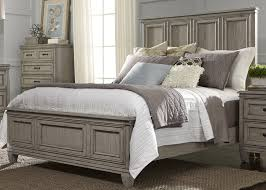 Grayton Grove Driftwood Panel Bedroom Set From Liberty Coleman