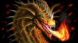 res 2560x1600 fire dragon