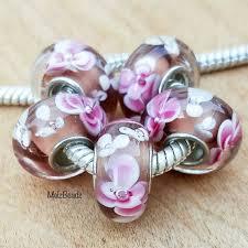 european style beads large hole beads lampwork beads large glass beads european beads fl glass beads big hole beads european bracelets