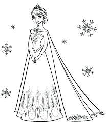 Frozen Coloring Pages Disney Free Frozen Coloring Pages Picture
