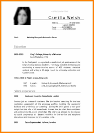 Resume Examples Uk Cv Examples Students Uk Resume Template Sample Yralaska 10