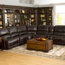 Photo Of FrontRoom Furnishings  Dublin OH United States Big Sky Leather  Sectional Front Room Furniture R57