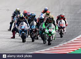 MotoGP - Styrian Grand Prix - Red Bull Ring, Spielberg, Austria - August  23, 2020 CIP Green Power's Darryn Binder (40) in action during the Moto3  race REUTERS/Lisi Niesner Stock Photo - Alamy