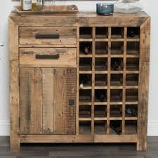 Needham 28 Bottle Floor Wine Cabinet