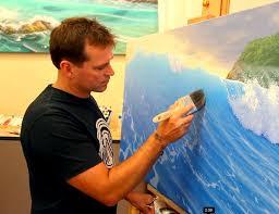 original seascape paintings by australian artist scott christensen