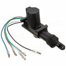 universal car locking system single gun type central door lock actuator 5 wires
