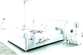 Amusing White Metal Bed Frame King Single Outstanding Master Suite ...