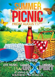 Picnic Flyers Free Summer Picnic V7 Premium Flyer Template Facebook Cover Download