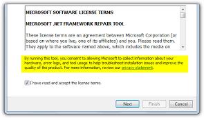 remove microsoft net framework