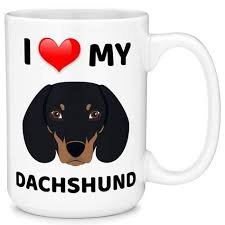 mugvana i love my dachshund dog coffee mug cup fun novelty gifts