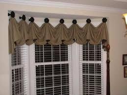 kitchen bay window treatment