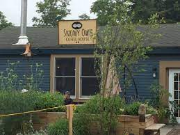 Snowy owl coffee espresso is an easy spot to miss but you will regret not stopping by this small shop during your visit to cape cod. Great Coffee And Staff Seating Inside And Out Picture Of Snowy Owl Coffee Roasters Brewster Tripadvisor