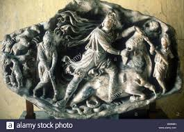 Ancient God Of Light Mithras Ancient Persian God Of Light And Ruler Of Universe