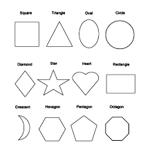 Small Picture Picture of Basic Shapes Coloring Page NetArt
