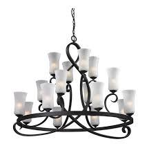 z lite 603 16 arshe 16 light 43 inch café bronze chandelier ceiling light