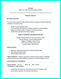 Financial Analyst Job Description Resume Data analyst resume will describe your professional profile 35