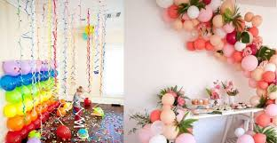 tag room decoration ideas for 21st birthday parties homemade