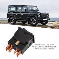 Land Rover Defender Red Warning Light Amazon Com Hazard Warning Lamp Switch Yuf101490 For Land