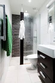 small narrow half bathroom ideas. Like The Idea Of Glass Door Coming Out Half Way Good Colors Too For Best 25 Small Narrow Bathroom Ideas
