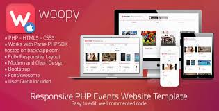 Css Website Templates Interesting Woopy PHP Listings Chat Web Template CodeScriptsandPlugins
