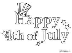 Small Picture 106 best 4th Of July Coloring Pages images on Pinterest Coloring