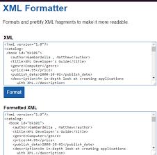 online format 8 online xml formatter free websites