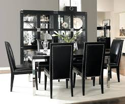 white and black dining room table. Black Dining Room Set Decoration And White Canada Table