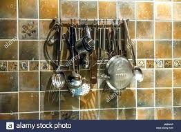 utensil hanging rack large size of utensils in kitchen with good hooks wall craft stainless steel kitchen utensil