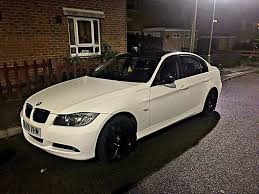 BMW 3 Series bmw 3 series in white : BMW 3 SERIES (white w/black roof & wing mirrors) | in St Albans ...