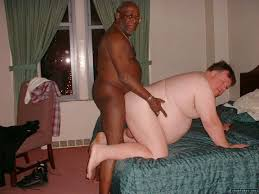 Interracial fucking and fat
