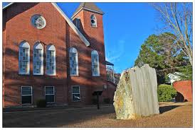 tuskegee first methodist church receive enter a small unassuming church perched on a hill above the highway butler s chapel ame