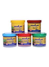 5 colours assorted finger paint