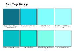 Yolo Paint Color Chart Tropical Paint Colors No Fail 2 Color It Coastal Waphan Co