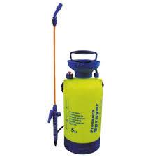 5l hand pump sprayer with brass nozzles