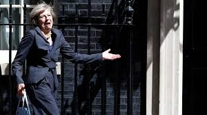 Image result for theresa may's grimaces