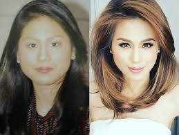 this is how these filipina celebrities looked like before