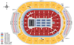 Air Canada Centre Seating Chart Hockey Eric Church Scotiabank Arena