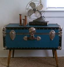 trunk coffee table pottery barn steamer