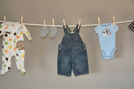 Baby Shower Clothesline II