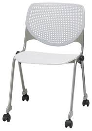 kool furniture. Best KOOL Poly Stack Chair With Casters And Perforated Back Reviews Kool Furniture